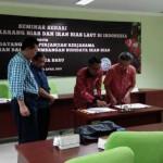 PRESS RELEASE SEMINAR SEHARI POTENSI BUDIDAYA KARANG HIAS DAN IKAN HIAS LAUT